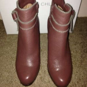 See By Chloe Leather Bootie
